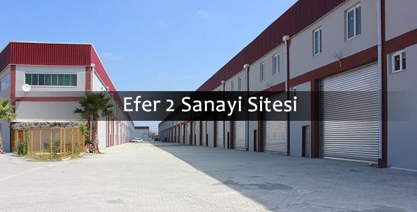 Efer 2 Sanayi sitesi