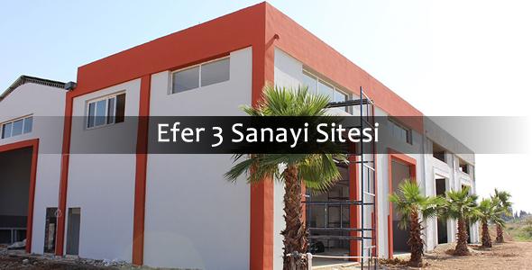 Efer 3 Sanayi sitesi
