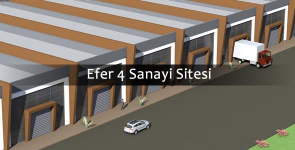 Efer 4 sanayi sitesi